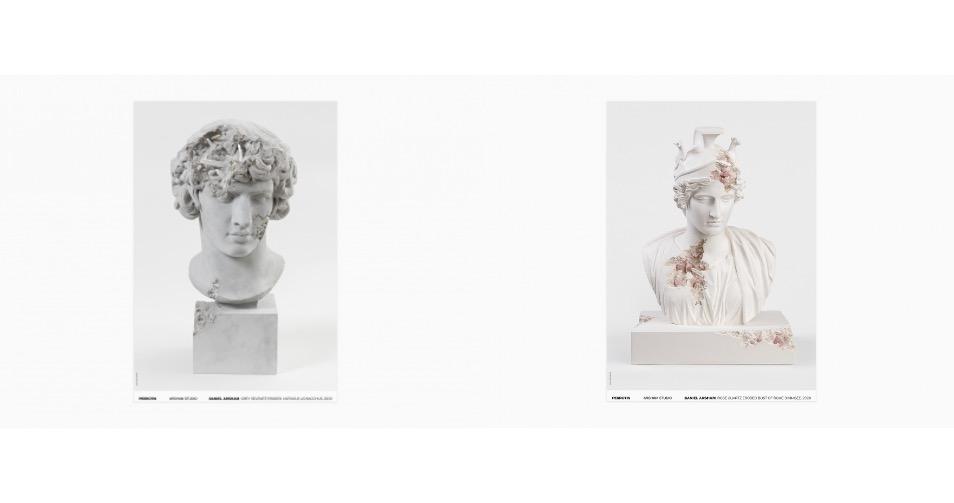 Daniel Arsham - Signed posters.