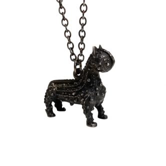 Grayson Perry - Chris Whitty's Cat pendant - 2021