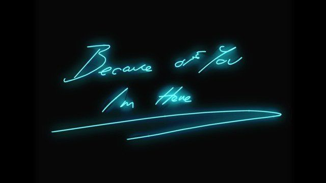 Tracey Emin - Because of you I'm here