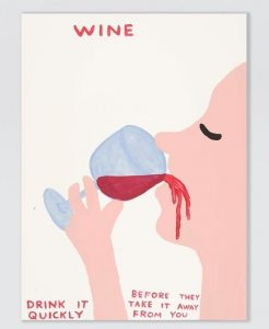 David Shrigley -Wine - 2021