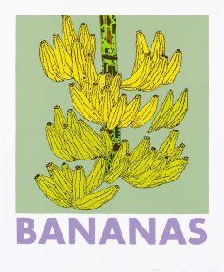 Jonas Wood - Bananas - 2021