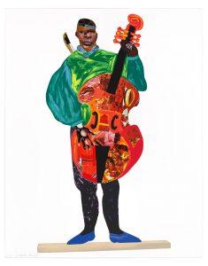 Lubaina Himid - Naming the Money: Kwesi, 2004/2021 - 2021