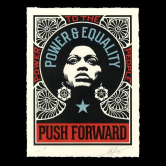 Shepard Fairey - Push Forward - 2021