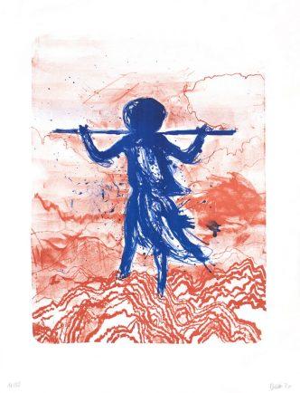 Daniel Richter - Storm (Blue) - 2021