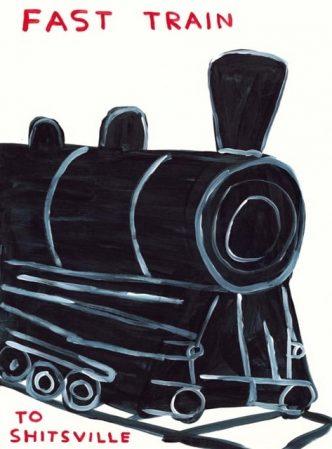 Private Sales - David Shrigley - Fast Train - 2021