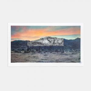 JR - Giants, Death Valley, Billboard, March 4, 2017, 5:41 pm, California, USA, 2017 - 2021