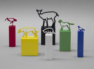 Julian Opie - Animal Statuettes - 2021