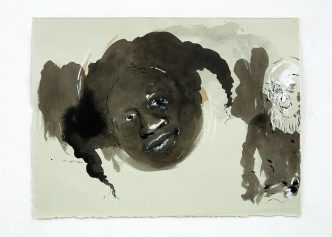 Kara Walker - Untitled, from the series The Gross Clinician Presents: Pater Gravidam - 2012