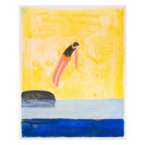 Katherine Bradford - New Diver - 2021