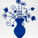 Kenny Scharf - Flores Blue