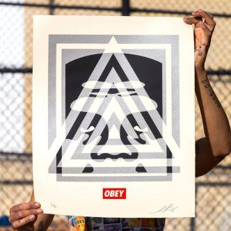 Shepard Fairey - Pyramid Top Icon - 2021