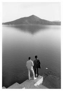Sunil Gupta - Towards an Indian Gay Image, Lake Pichola, Udaipur, 1983 - 2021