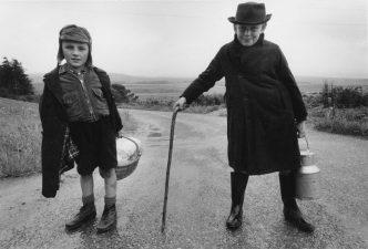 William Klein - Two Boys Near Inverness, Scotland - 1963