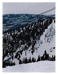 Jonas Wood - New Studio Voltaire Limited Edition Blanket - 2021