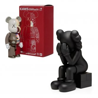 Private Sales - KAWS - Bearbrick Dissected Companion 200% and Passing Through (Black)