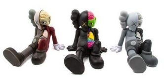 Private Sales - KAWS - Resting Place Set (Brown, Black and Grey) - 2012