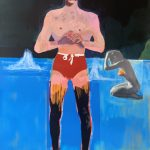 Private Sales - Peter Doig - Bather for Secession  *SOLD PENDING PAYMENT*