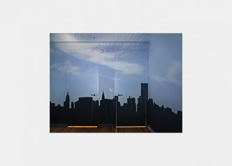 Abelardo Morell - Camera Obscura – Late Afternoon View of the East Side of Midtown Manhattan, 2014 - 2021