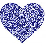 Mr Doodle - Pop Heart Prints and Collectors Box