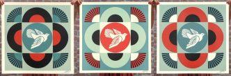 Shepard Fairey - Geometric Dove - 2021