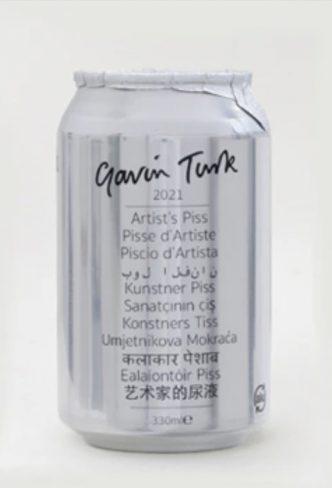 Gavin Turk - Artist Piss - 2021