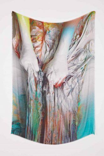 Katharina Grosse - Heart and Hair - 2021