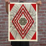 Shepard Fairey and Kai & Sunny - OBEY K + S Flower Diamond *SOLD OUT*
