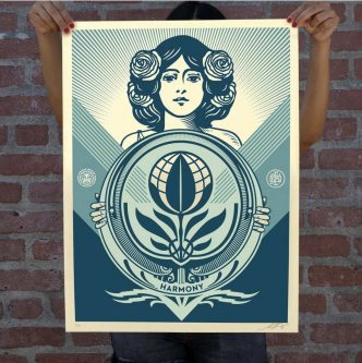 Shepard Fairey - Protect Biodiversity-Cultivate Harmony - 2021