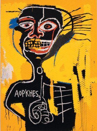 Jean-Michel Basquiat - Cabeza - 1982/2005